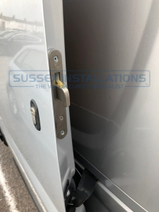 Vauxhall Combo 2013 - Hook deadlocks to load area - Sussex Installations T SERIES DEADLOCKS - VAUXHALL - Online Shop & Worldwide Delivery - Sussex - London & The South East