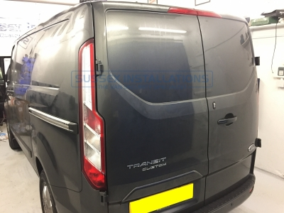 Ford Transit Custom 2017 - Alarm Upgrade and Lock Installs - Sussex Installations T SERIES DEADLOCKS - FORD CUSTOM - Online Shop & Worldwide Delivery - Sussex - London & The South East