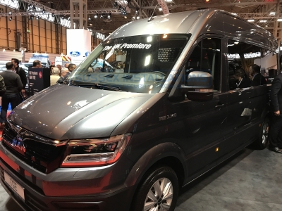 MAN TGE 2017 - Commercial Vehicle Show - New 2017 Van Models - Online Shop & Worldwide Delivery - Sussex - London & The South East