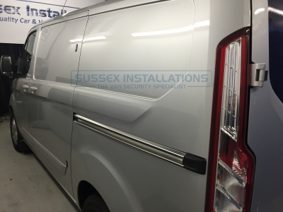 Ford - Transit - Custom (2013 - 2018) (null/nul) - Ford Custom 2016 - Twin Side Deadlocks & Alarm Upgrade PIR - Online Shop & Worldwide Delivery - Sussex - London & The South East