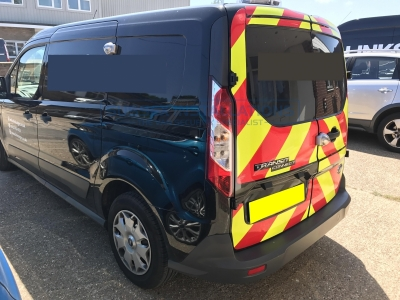 Ford Transit Connect 2017 - HD Gold Package Security Install - Sussex Installations FOR5-HDGP-1S-RB-S - Online Shop & Worldwide Delivery - Sussex - London & The South East
