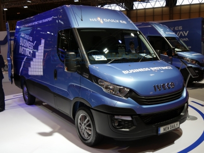 New Model Iveco Daily 2016 Pictures from the NEC - Online Shop & Worldwide Delivery - Sussex - London & The South East