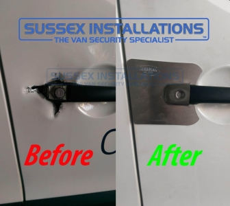 Citroen Berlingo 2016 - Armaplate Repair After Break in - Armaplate SENTINEL - CITROEN BERLINGO - Online Shop & Worldwide Delivery - Sussex - London & The South East