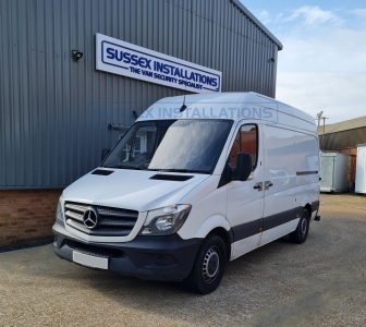 Mercedes Sprinter (2017) Security Upgrades - Online Shop & Worldwide Delivery - Sussex - London & The South East