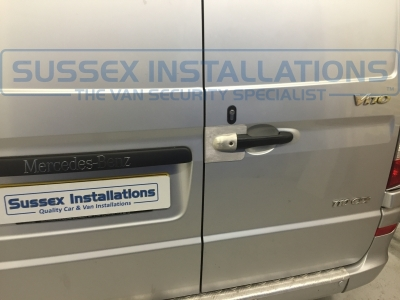 Mercedes - Vito / Viano - Vito/Viano (2004 - 2015) W639 (null/201) - Mercedes Vito 2011 Security - Deadlocks, Armaplate, Alarm + - Online Shop & Worldwide Delivery - Sussex - London & The South East