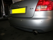 Audi - A4 - A4 - (B8, 2008 - On) (05/2009) - Audi A4 2009 Rear Parking Sensors in Silver - LUTTERWORTH - LEICESTERSHIRE