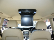 Jaguar - X-Type (02/2009) - Jaguar X Type 2009 Roof Mounted DVD Player Installation - LUTTERWORTH - LEICESTERSHIRE