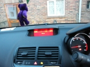 Vauxhall - Meriva - Meriva B - (2010 on) (05/2012) - Vauxhall Meriva 2012 Parrot Bluetooth Handsfree Car Kit - LUTTERWORTH - LEICESTERSHIRE