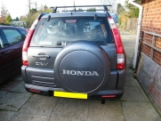 Honda CRV 2007 ParkSafe PS740 Rear Parking Sensors - ParkSafe PS740 - Haverfordwest - Pembrokeshire