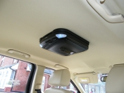 Jaguar - X-Type (02/2009) - Jaguar X Type 2009 Roof Mounted DVD Player Installation - St Helier - Jersey