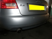 Audi - A4 - A4 - (B8, 2008 - On) (05/2009) - Audi A4 2009 Rear Parking Sensors in Silver - CHATHAM - KENT