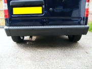Ford Connect 2004 Rear Parking Sensors in Black - Steelmate PTS400EX - bluetooth - carphone services