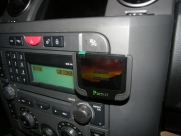 Land Rover - Discovery - Series 3 05-09 (06/2007) - Parrot MKi9200 - bluetooth - carphone services