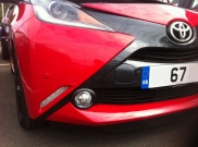 67 Plate Toyota Aygo Colour Coded Rear Parking Sensor - MANCHESTER - GREATER MANCHESTER