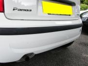 Fiat - Panda (09/2010) - Fiat Panda 2010 White with Black Rear Parking Sensors - EDINBURGH - LOTHIAN
