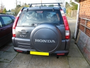 Honda CRV 2007 ParkSafe PS740 Rear Parking Sensors - ParkSafe PS740 - EDINBURGH - LOTHIAN