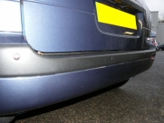 Hyundai Matrix 2007 Rear Parking Sensors - Steelmate PTS400EX - EDINBURGH - LOTHIAN