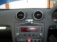 Audi - A3 - A3 -  (8P/8PA, 2003 - 2011) (11/2007) - Audi A3 2007 Parrot Ck3100 Bluetooth Handsfree Carkit - Chudleigh - Devon