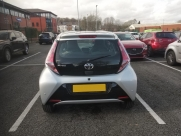 2015 Toyota Aygo Colour Coded Rear Parking Sensors - MANCHESTER - GREATER MANCHESTER