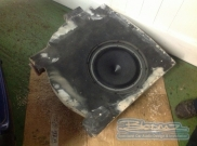 Subwoofer enclosure - VW - Passat (null/nul) - Bloomz Sub Box - Ongar - ESSEX