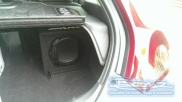 "Top of the Boot 8"" Sub plays its heart out - Volvo - C30 - C30 - (2010 on) (null/nul) - Alpine SWE-815 - Bovinger - ESSEX"