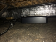 Sub under back seat.  Sound was truly amazing - VW - Transporter / Caravelle (09/1971) - Alpine SWE-1244E - WITNEY - OXFORDSHIRE