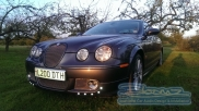 Facing the sun in the evening - Jaguar - S-Type - Lighting - Ongar - ESSEX