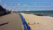 Eastbourne Seafront with Eastbourne Pier in the background. - Events - Online Shop & Worldwide Delivery - Sussex - London & The South East