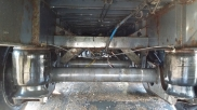 The axle area clean and ready for the MOT inspection. - Commercial Vehicle Dealer - Eastbourne - Sussex, Surrey, Kent