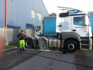 Mercedes Actros Tractor Unit & Box Trailer - External Wash - Eastbourne - Sussex, Surrey, Kent
