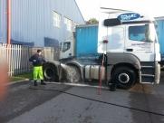 Mercedes Actros Tractor Unit & Box Trailer - External Wash - Eastbourne - Sussex, Surrey, Kent