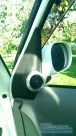 Drivers side tweeter - Nissan - Cube - Cube - (Z11, 2002 - 2008) - Bloomz Mirror Back - Bovinger - ESSEX