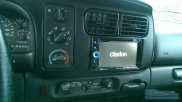 Clarion sat nav fitted :-) - Dodge - Ram (05/2002) - Dodge Dakota Head Unit Fitting - Bovinger - ESSEX