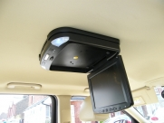 Jaguar - X-Type (02/2009) - Jaguar X Type 2009 Roof Mounted DVD Player Installation - HEXHAM - NORTHUMBERLAND