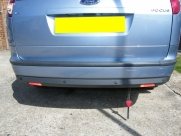 Ford Focus Estate 2006 Rear Parking Sensors - Steelmate PTS400EX - DARLINGTON - DURHAM