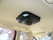 Jaguar - X-Type (02/2009) - Jaguar X Type 2009 Roof Mounted DVD Player Installation - DARLINGTON - DURHAM