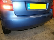 Skoda - Fabia - Fabia - (2007 - On) (01/2014) - Skoda Fabia 2013 ParkSafe Rear Parking Sensors - DARLINGTON - DURHAM