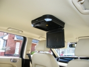 Jaguar - X-Type (null/200) - Jaguar X Type 2009 Roof Mounted DVD Player Installation - Maidstone - KENT