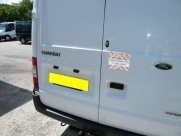 Ford Transit 2008 Cab and Load Area Deadlocks - Sussex Installations T SERIES VAN DEADLOCKS GENERAL - HARPENDEN - HERTS