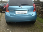 Nissan Note 2014 with Colour Coded ParkSafe Rear Parking Aid - ParkSafe PS740 - WEB DEVELOPMENT SERVICES - YOUR COUNTY