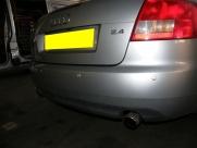 Audi - A4 - A4 - (B8, 2008 - On) (05/2009) - Audi A4 2009 Rear Parking Sensors in Silver - NORWICH - NORFOLK