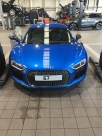 67 Plate Audi R8 Vodafone Category 5 Tracking System Install - Cobra CobraTrak 5 - MANCHESTER - GREATER MANCHESTER