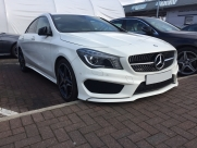 Mercedes - CL-Class (03/2015) - 2015 Mercedes CLA Retro Fit Reverse Parking Aid Camera - MANCHESTER - GREATER MANCHESTER