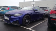 BMW - 4 Series - 4 series - (F32/33/36/82/83 2014On) (03/2017) - 2017 BMW M4 RAC Trackstar Category 6 Tracking System - MANCHESTER - GREATER MANCHESTER