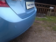 Nissan - Note - Note - (E12, 2013 On) (01/2014) - Nissan Note 2014 with Colour Coded ParkSafe Rear Parking Aid - Steventon - Abingdon