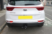 Kia - Sportage (03/2017) - 2017 Kia Sportage Fixed Towbar With 13 Pin Electrics - MANCHESTER - GREATER MANCHESTER