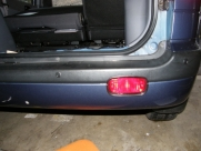 Hyundai - Matrix (05/2007) - Hyundai Matrix 2007 Rear Parking Sensors - north wales - Anglesey & Gwynedd