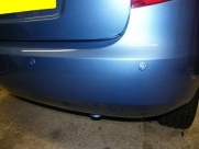 Skoda - Fabia - Fabia - (2007 - On) (01/2014) - Skoda Fabia 2013 ParkSafe Rear Parking Sensors - north wales - Anglesey & Gwynedd