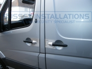 Mercedes - Sprinter - Sprinter (W906, 2006 - 2013) - Armaplate SENTINEL VAN HANDLE GUARDS -   - Sussex - London & The South East