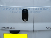 Vauxhall - Vivaro - Vivaro (2011 - 2014) - Sussex Installations VAU1-SH VIVARO SLAM HANDLE - Online Shop & Worldwide Delivery - Sussex - London & The South East